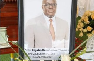 Prof. Kigabo Thomas Laid to Rest