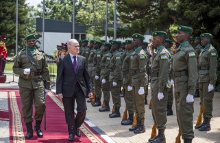 Ten Envoys Present Credentials To Kagame