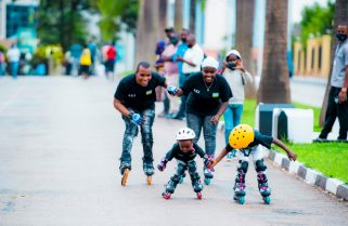 Skating Meets Love In Habyarimana's Young Family