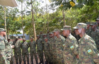 RDF Sends a Contingent To Bangladesh for Peace Support Exercise