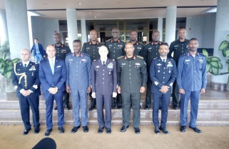 Italian Air Force Chief in Rwanda