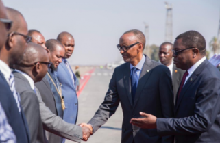 Kagame in Zambia for Launch of SDGs Sub-Regional Center