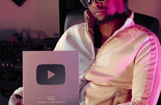 YouTube Rewards Singer Meddy with a Silver Play Button