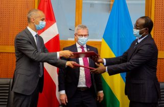 Rwanda, Denmark Sign Agreements to Further Bilateral Relations