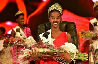 Iradukunda Elsa Crowned Miss Rwanda 2017