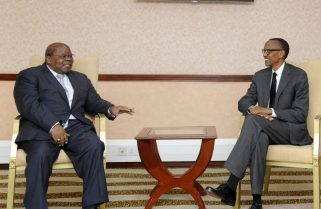 President Kagame Joins Continent to Mourn Former Tanzanian President Mkapa