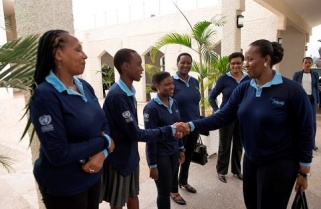 Mrs Kagame Nurtures Girls Into Future Leaders