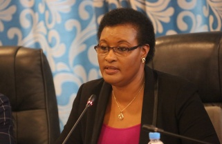 Donatille Mukabalisa Re-elected Speaker of Parliament