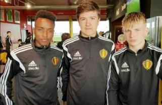 Meet Little-Known Rwandan Accepted in Belgium Soccer Team
