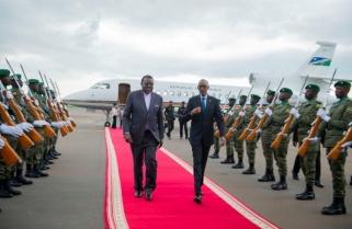 Photos: Namibian President Visits Rwanda