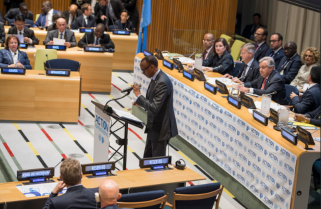 Kagame Demands UN/AU Shared Burden on Peacekeeping Support
