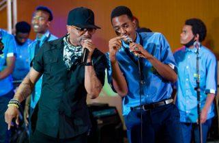 Rwanda School of Creative Arts and Music Thrills Superstar Teddy Riley