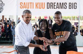 Former USA President Barack Obama Joins NBA Africa As Strategic Partner