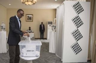 President Kagame Casts His Vote in Diaspora