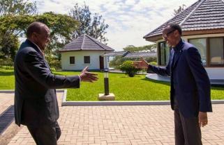 Kenya's President Kenyatta Arrives in Rwanda for Working Visit