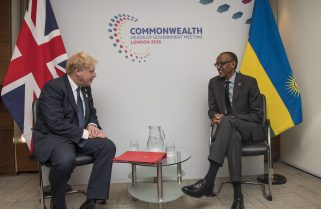 COVID-19: We Have You In Prayers – Kagame to Boris Johnson