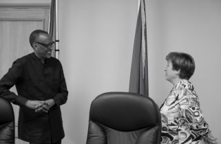Kagame, Global Leaders Discuss 'Fast & Flexible' Solutions to COVID-19
