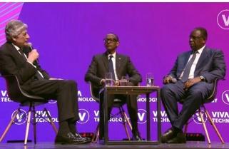 Kagame Explains Rwanda's Resilience at VivaTech 2019