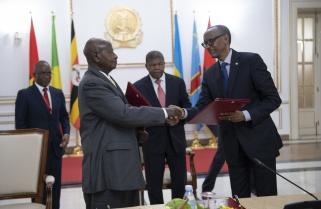 Rwanda-Uganda Relations: Kagame, Museveni 3rd Summit Due Tomorrow in Luanda