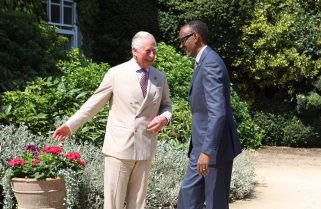 Kagame, Prince Charles Discuss Sustainable Markets Initiative