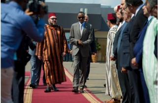 Kagame, King Mohammed VI Discuss AU Reforms, Bilateral Ties
