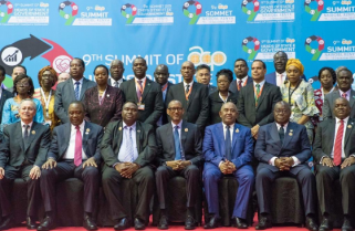 Kagame Attends Africa, Caribbean and Pacific Summit in Kenya