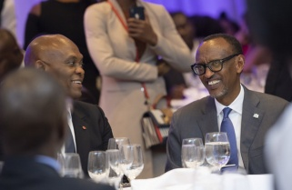 Kagame Encourages Africans to Work Together to Develop