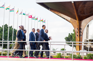Kagame in Nairobi for Japan-Africa Summit
