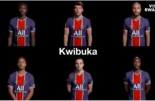 Kwibuka27: PSG Players Express Solidarity with Rwanda