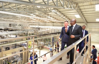 Prime Minister Launches Skol's Packaging Line as it Expands 25% Market Share