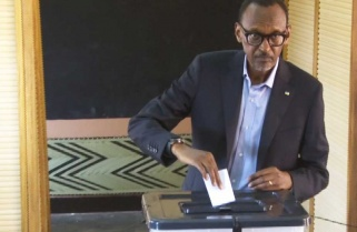 President Kagame, Family Cast Their Vote/ Kigali 04 August 2017