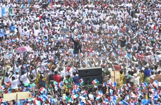 Kagame in Nyaruguru: 'I Do Not Want to Pretend, the Win is with RPF'