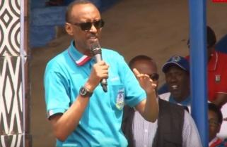 RPF CAMPAIGN: KAGAME IN RUTSIRO TO MEET VOTERS