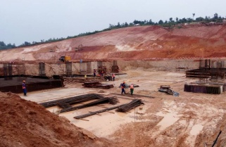 Construction of 80MW Gisagara Peat Plant in Progress