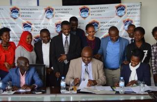 Imbuto Foundation, MKU Put Smiles on 100 Students' Faces