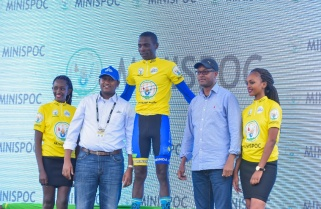 Rwandan Nsengimana Wins 3.3km Prologue of Tour du Rwanda