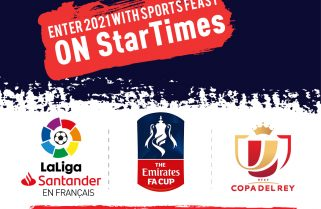 Enter 2021 With A Sports Feast on StarTimes