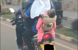 Motorcyclist In Awful Transport of A Baby Arrested, Mother Wanted