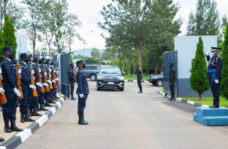 Malawi's IGP in Rwanda for Bilateral Visit