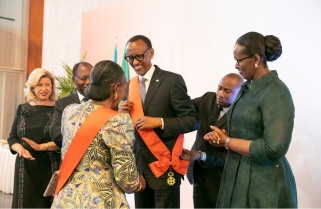 Kagame Named Honorary Citizen of Côte d'Ivoire Capital Abidjan