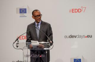 Kagame in Belgium to Meet Top EU Officials