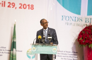 Kagame Defends the Congo Basin Blue Fund