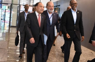 Kagame Shows Link between Broadband and African Growth