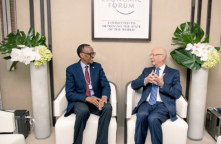 Kagame to Discuss Security at WEF