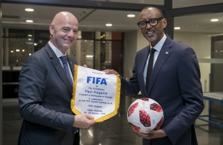 FIFA Boss Commits to Promote Football Development in Schools