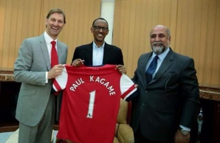 President Kagame Calls for Fundamental Changes At Trophy-less Arsenal