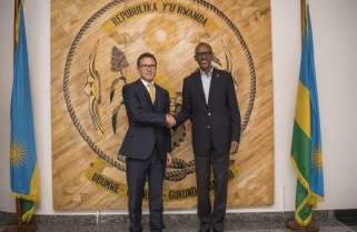 Outgoing UK High Commissioner Bids Farewell to President Kagame