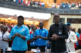 Kagame Pledges His Best to RPF Party Cadres