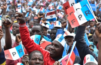 RPF Candidate Paul Kagame Rally in Musanze District / 26 July 2017