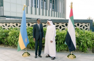 Kagame, UAE Leaders Discuss Investment, Cooperation